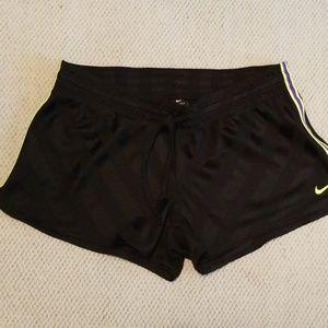 Nike Dri-Fit Black Shorts Size XL